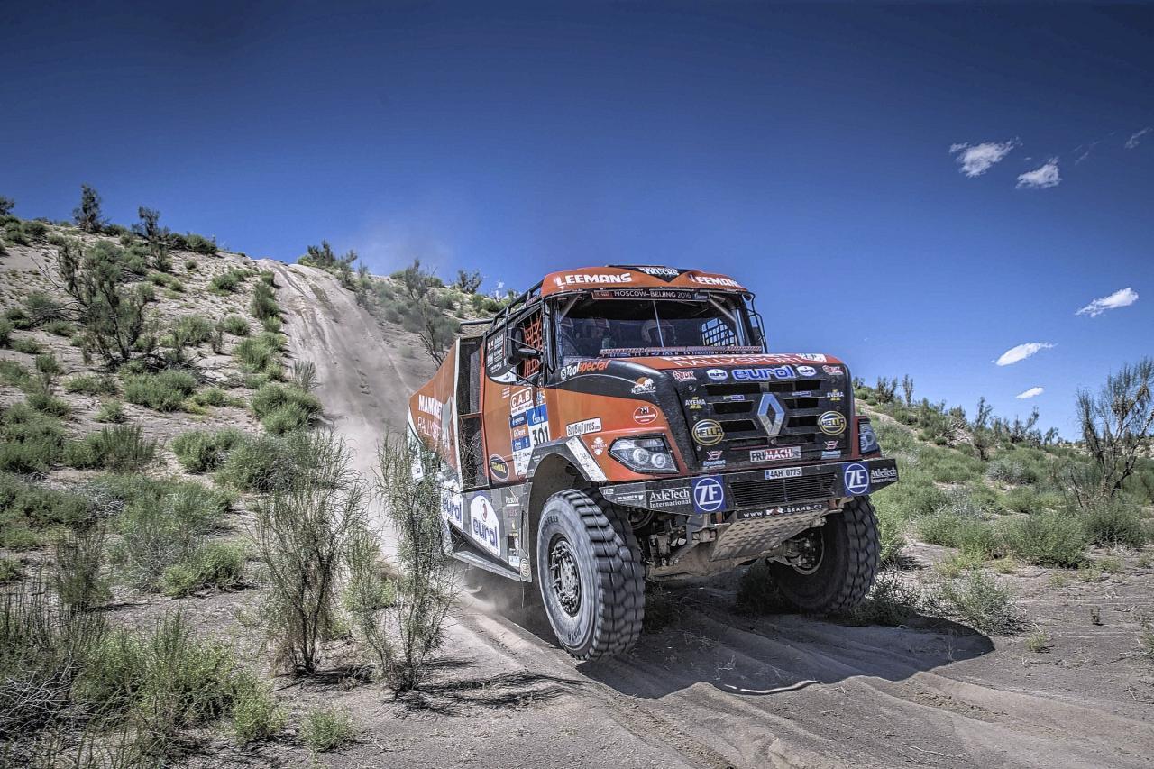 Mammoet rallysport uitstekend uit de startblokken