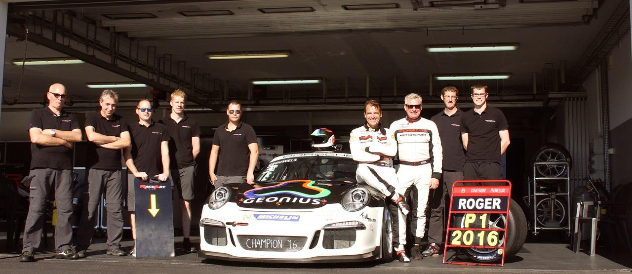 Team RaceArt in Supercar Challenge 2017 met Porsche!