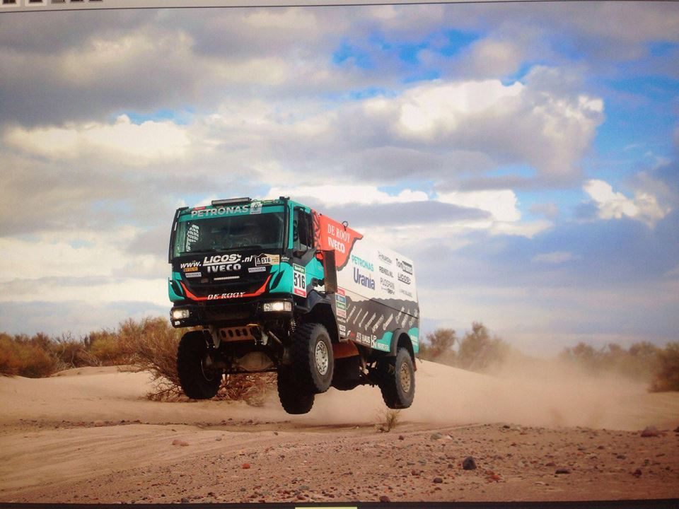 Van Genugten nog niet klaar met Dakar Rally