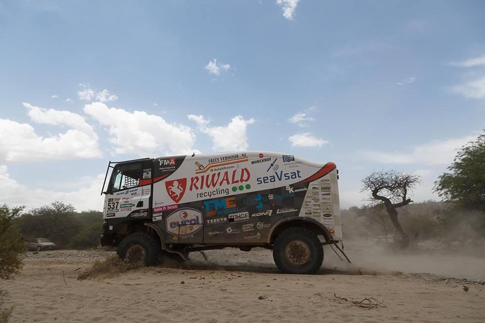 Riwald dakar team: Monsterlijke etappe met waypoint-escape