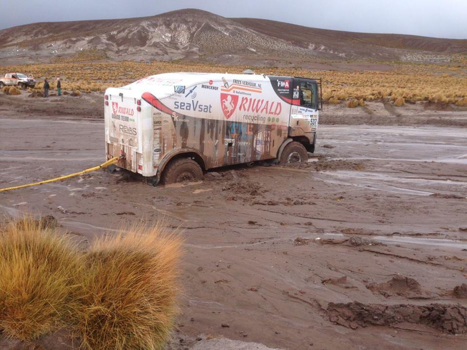 Riwald Dakar Team: Zware etappe voor Fast-Assistance jongens