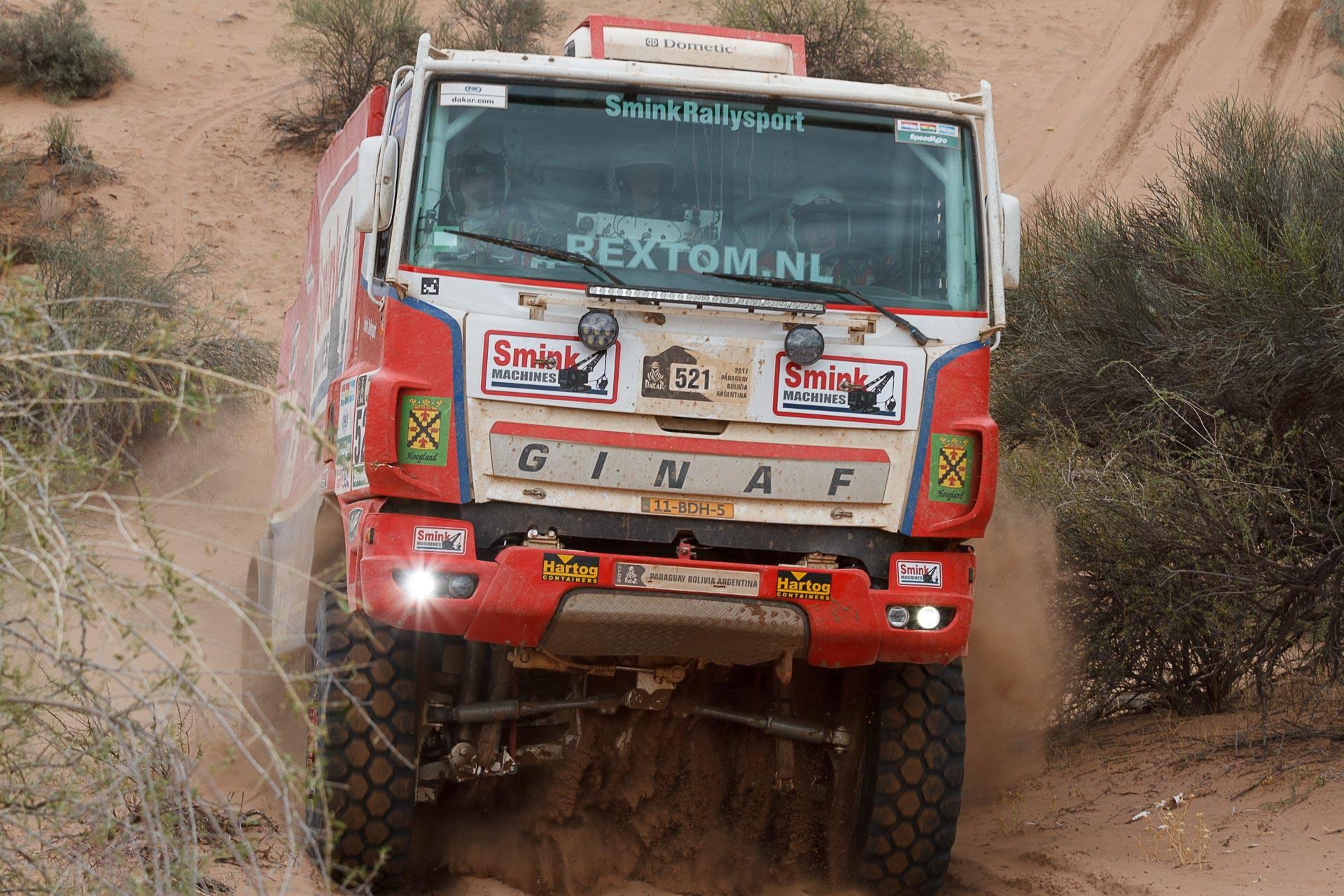 Smink Rallysport: Mooi resultaat