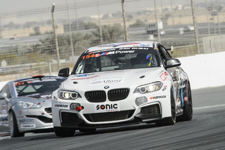 QSR Racing werkt behouden kwalificatiesessie af