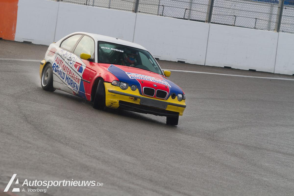 Mika Morien voor Bas Koeten Racing in TCR Benelux met de Audi RS 3