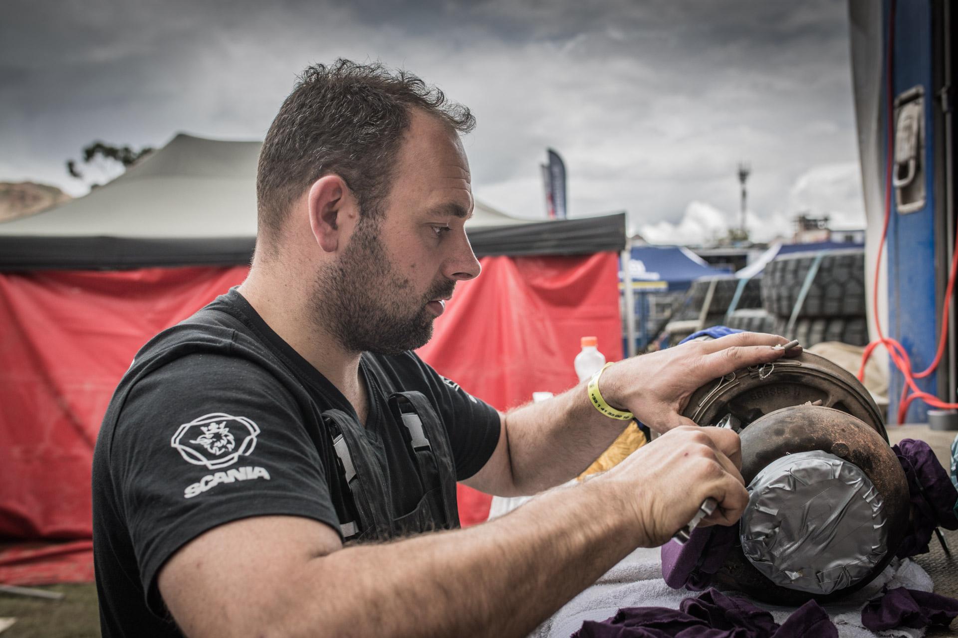 Dakarspeed: Etappe 7 La Paz - Uyuni