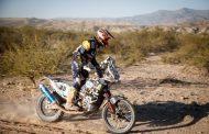 Robert van Pelt houdt zich staande in zware derde etappe Dakar Rally