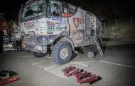 Riwald Dakar Team: #537 klokt een 40ste tijd bij CP1