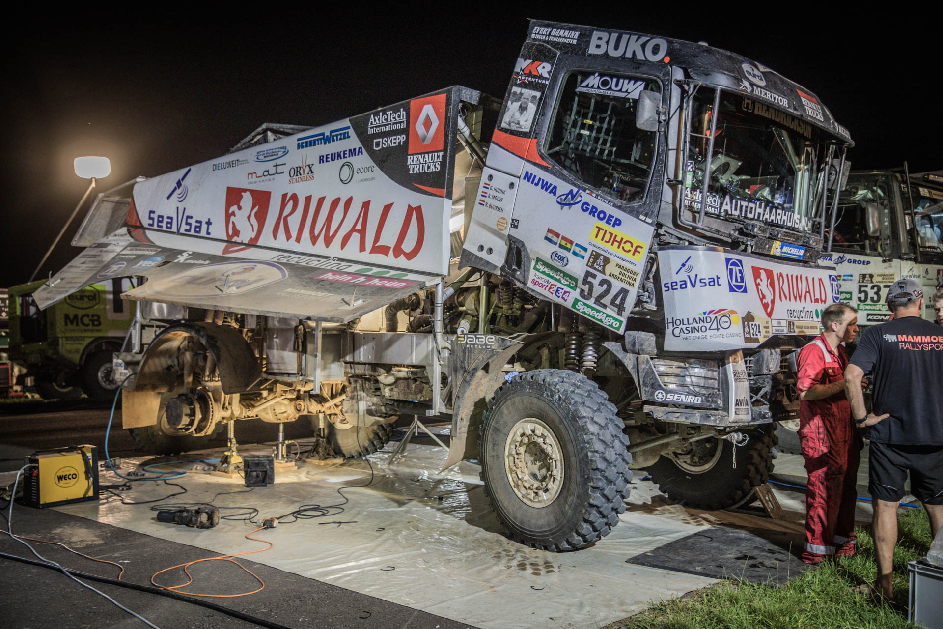 Riwald Dakar: Weer tip top van start tussen de Kamazzen!