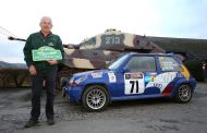 Rene Marin met Renault 5 GT Turbo in Legend Boucles Bastogne
