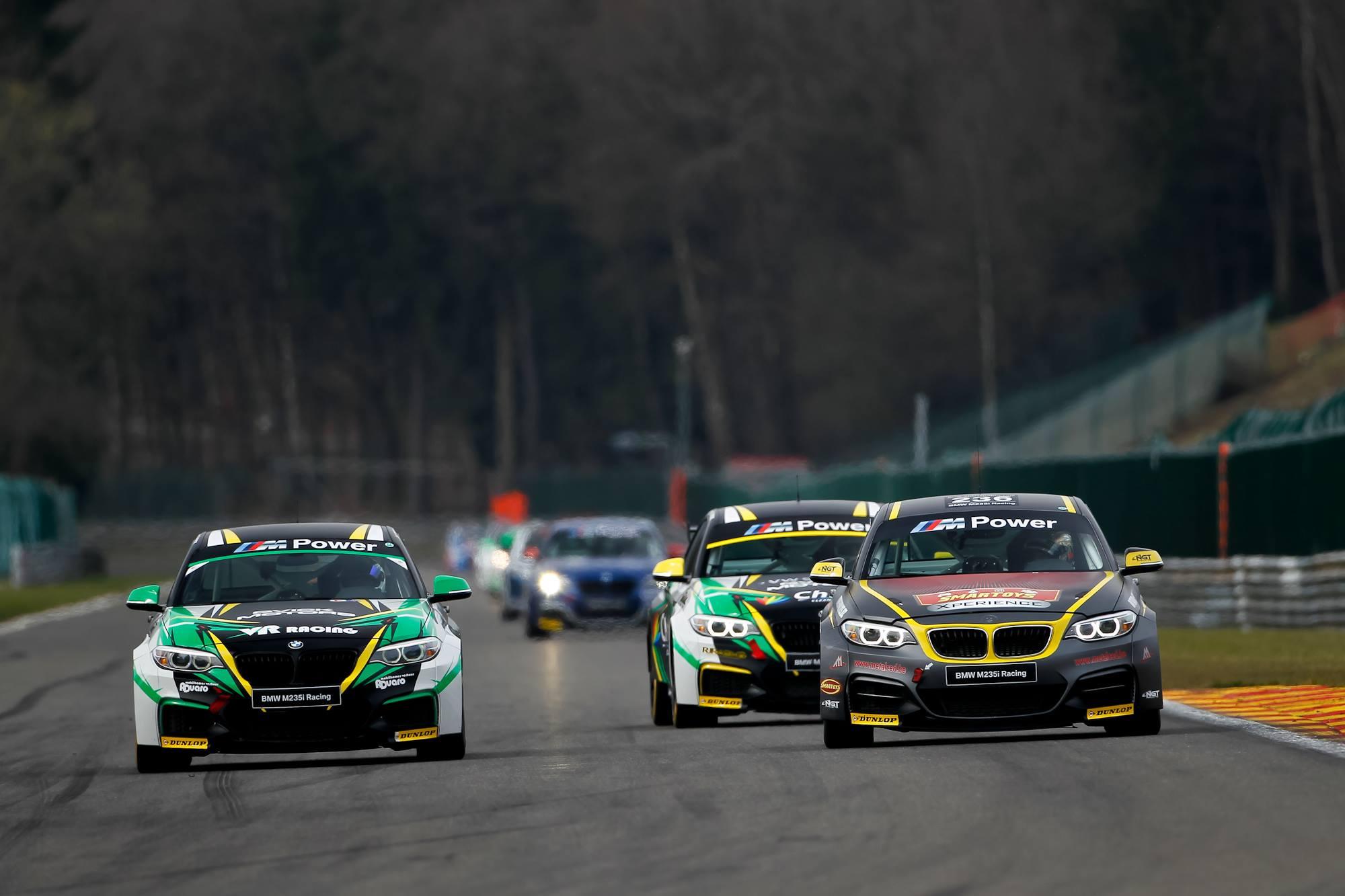 Derde seizoen BMW M235i Racing Cup wordt Grand Cru
