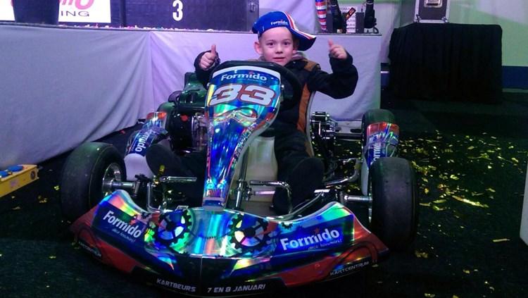 VDZ Racing breidt uit met kartdivisie na overwinning Frens van der Zanden in talentenjacht