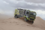 Team Tilburgs Truck Parts op de automaat door de duinen
