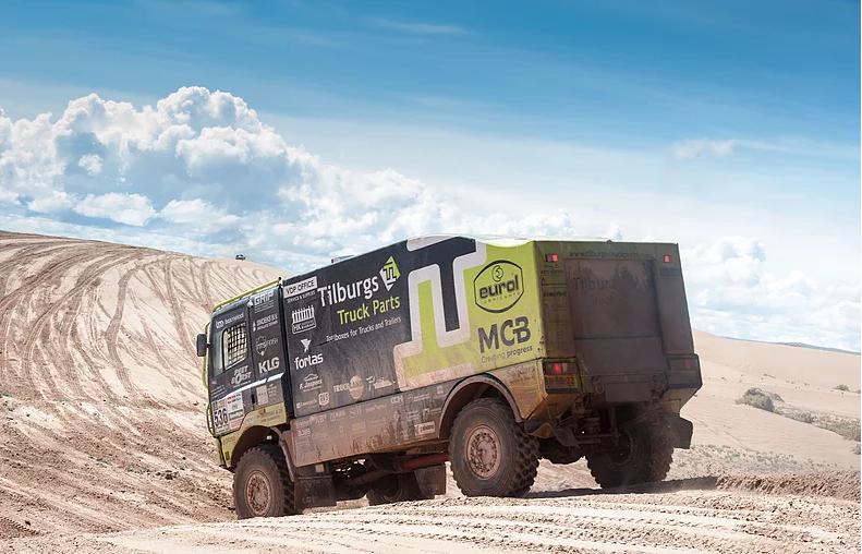 Team Tilburgs Truck Parts geniet van martelgang in tiende etappe