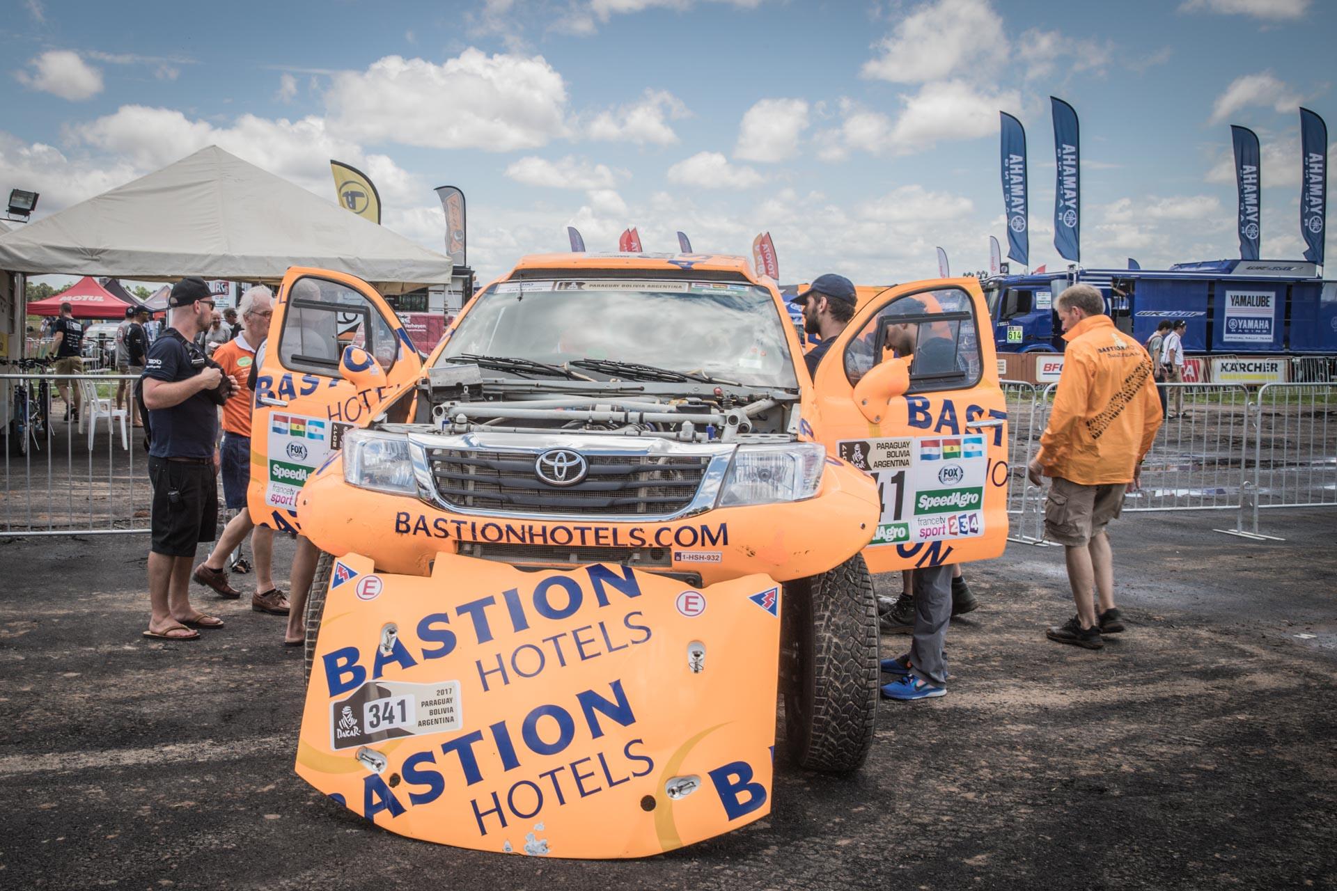 Bastion hotels dakar team: Maik Willems verheugt zich op avontuurlijke Dakar 2017