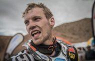 Robert van Pelt blijft constant in de Dakar Rally