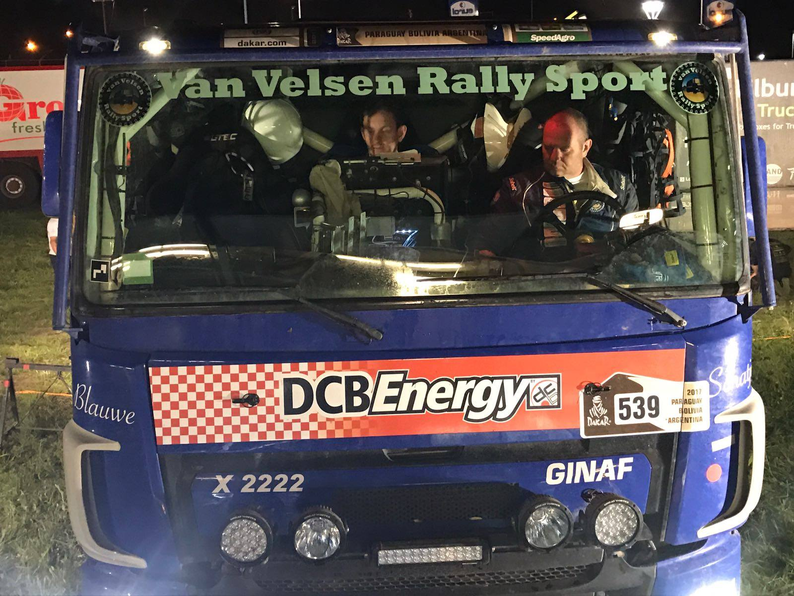 Van Velsen rallysport: etappe 4. De uitdaging aangegaan!