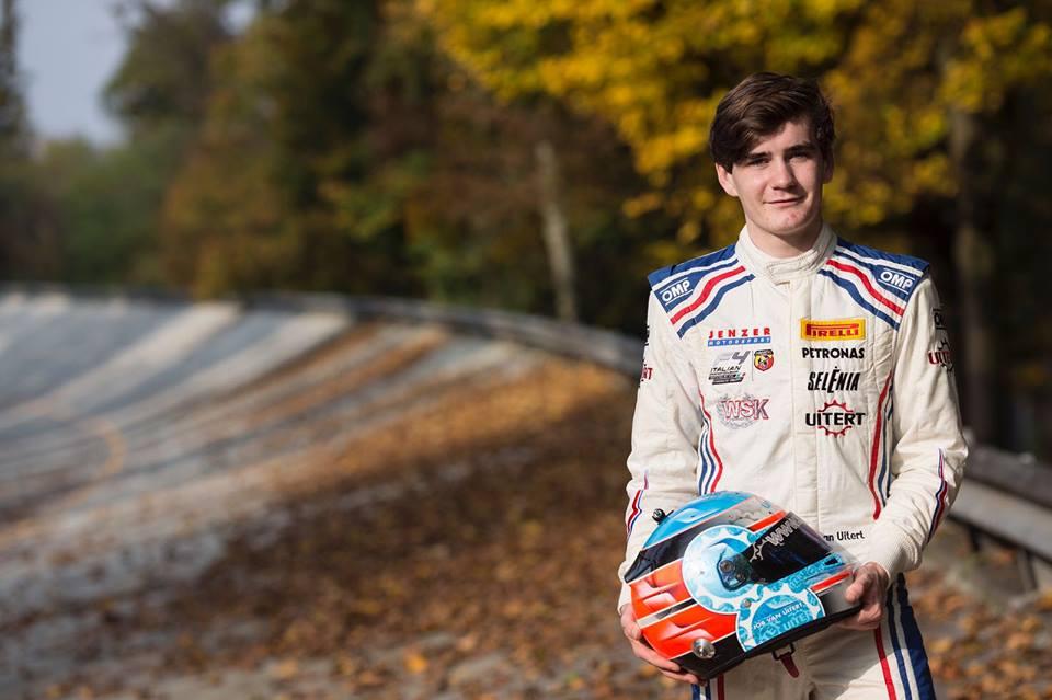 Job van Uitert gefocust op Italiaans F4 kampioenschap