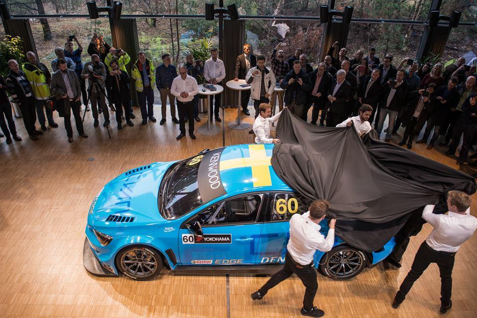 Polestar Cyan Racing presenteert drivers line up: Nick Catsburg nog een seizoen in WTCC