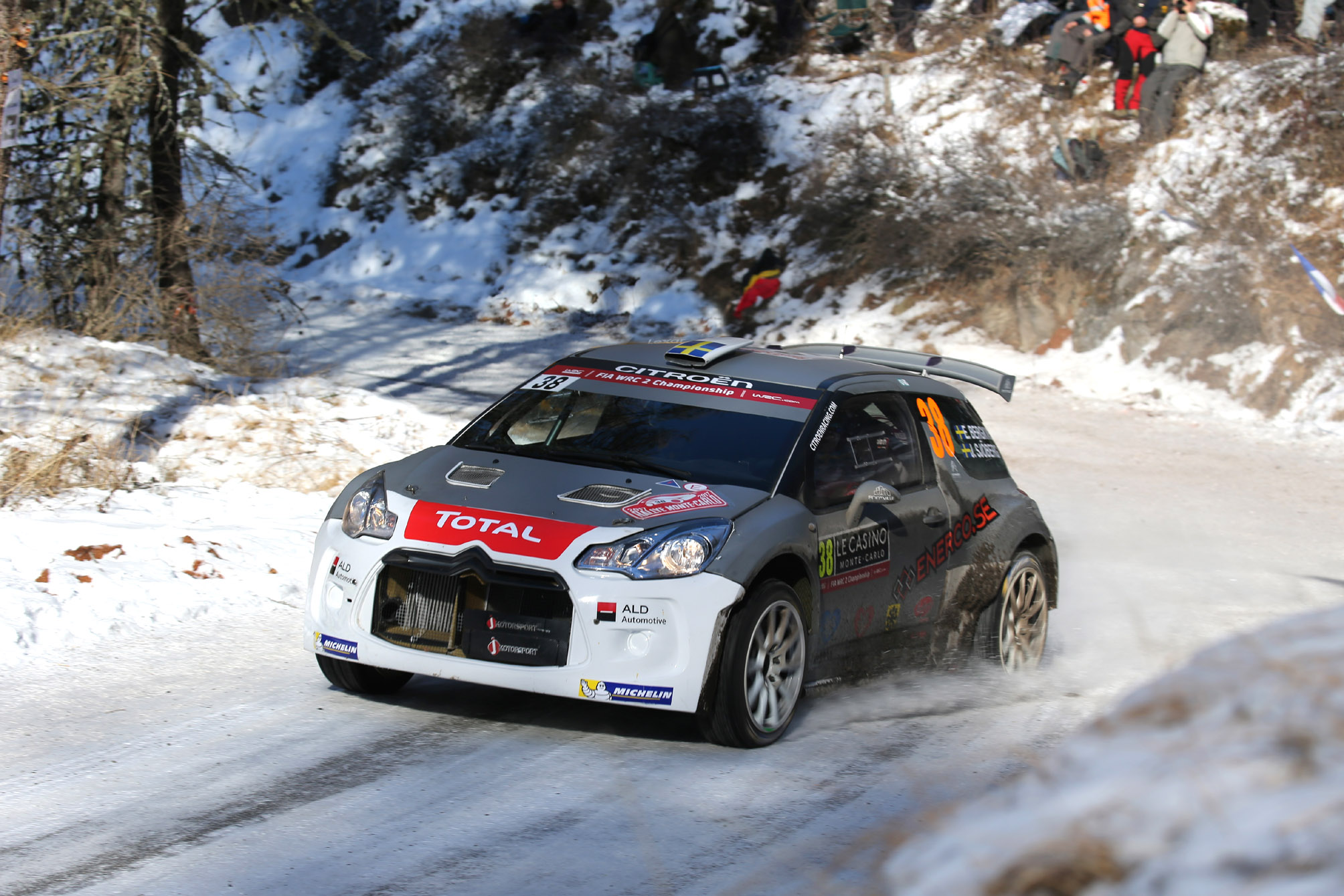 J-Motorsport met 2 DS3 R5's in Rally van Zweden