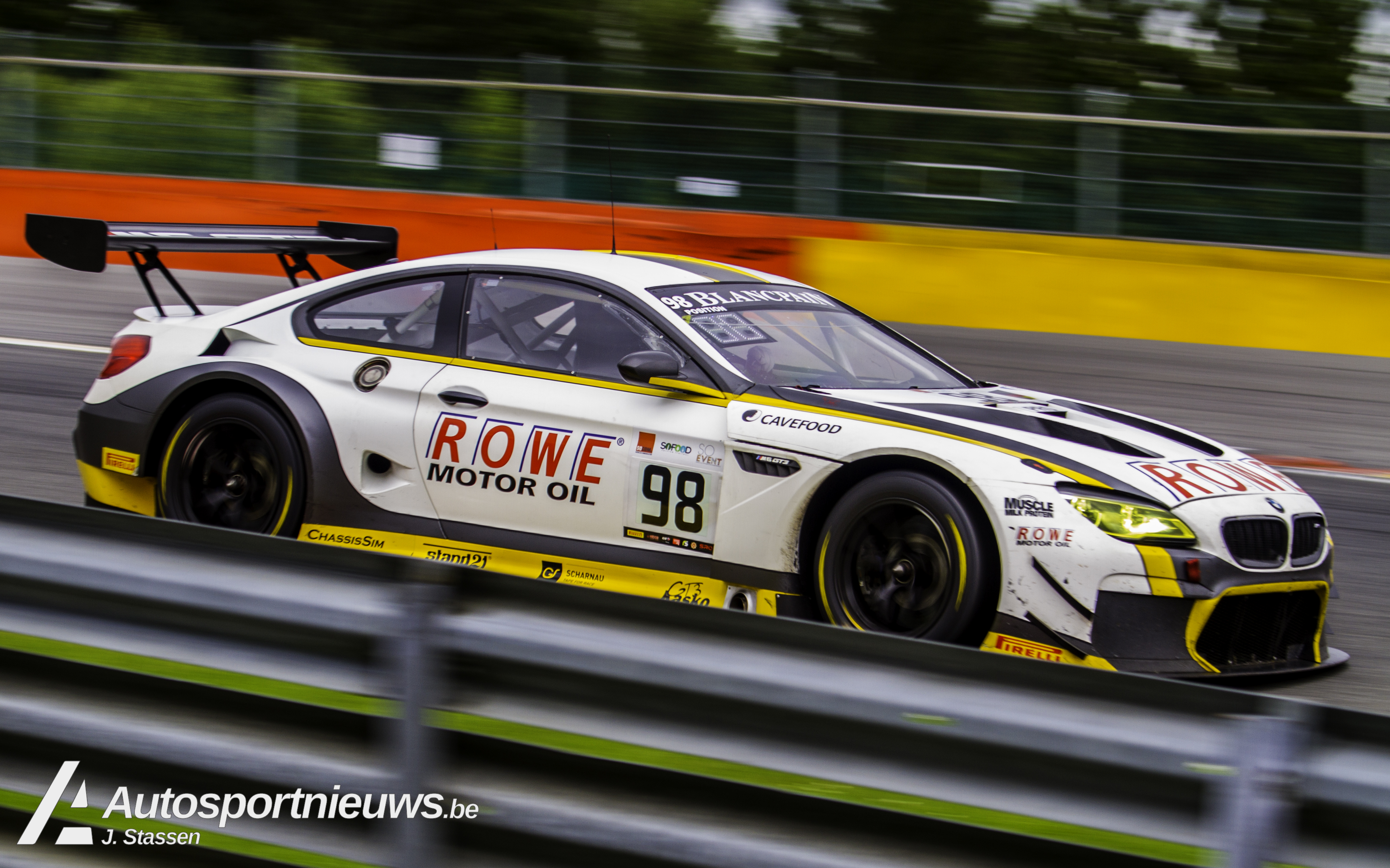 ROWE RACING opnieuw met twee BMW M6 GT3's aan de start in de Blancpain GT Series