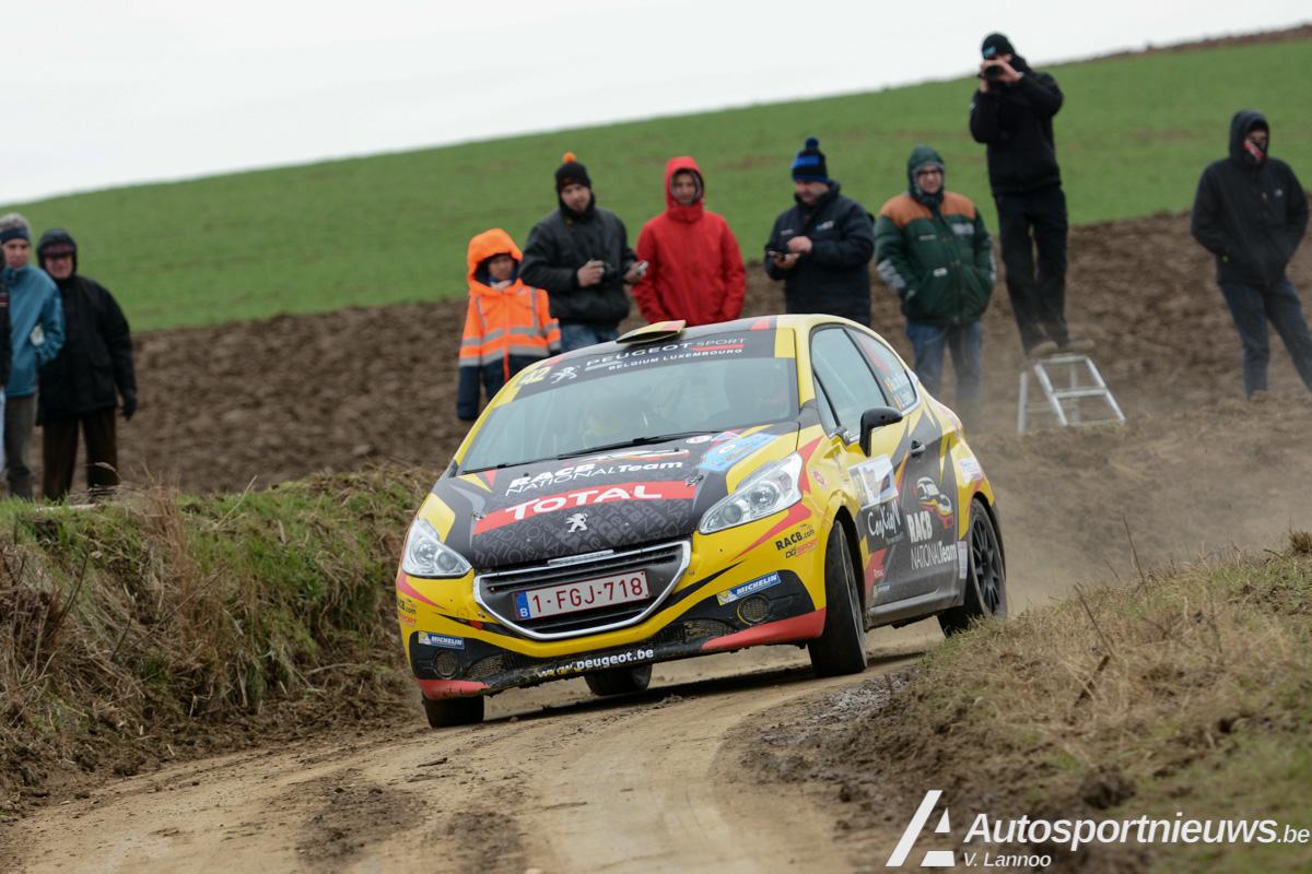 Jelle Vermeire gaat de strijd aan met Guillaume de Mevius - Junior BRC - TAC Rally