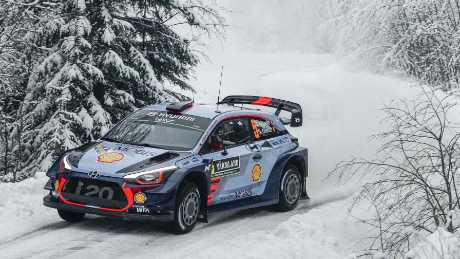WRC 2017 Rally van Zweden: Neuville houdt Latvala af op Dag 1
