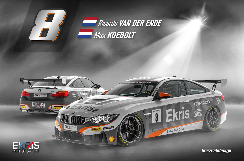 Missie Misano: Ekris Motorsport klaar voor seizoensstart GT4 European Series met verbeterde Ekris M4 GT4