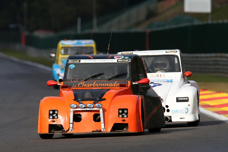 2CV Racing Cup, Fun Cup en Mitjet om het seizoen op het mooiste circuit van de wereld te openen!