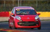 De eerste C1 Racing Cup in actie tijdens de Trophée des Fagnes in Francorchamps