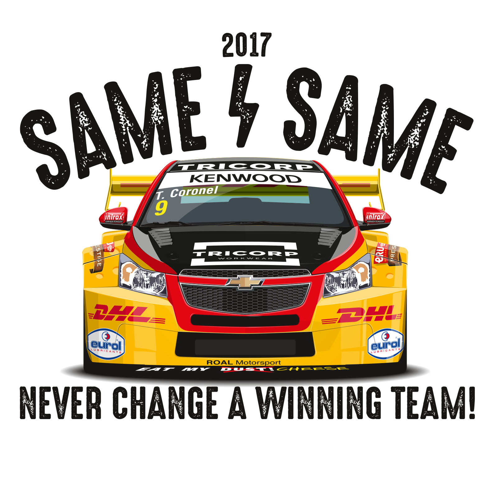 Veel van hetzelfde voor Tom Coronel in FIA-WTCC-seizoen 2017