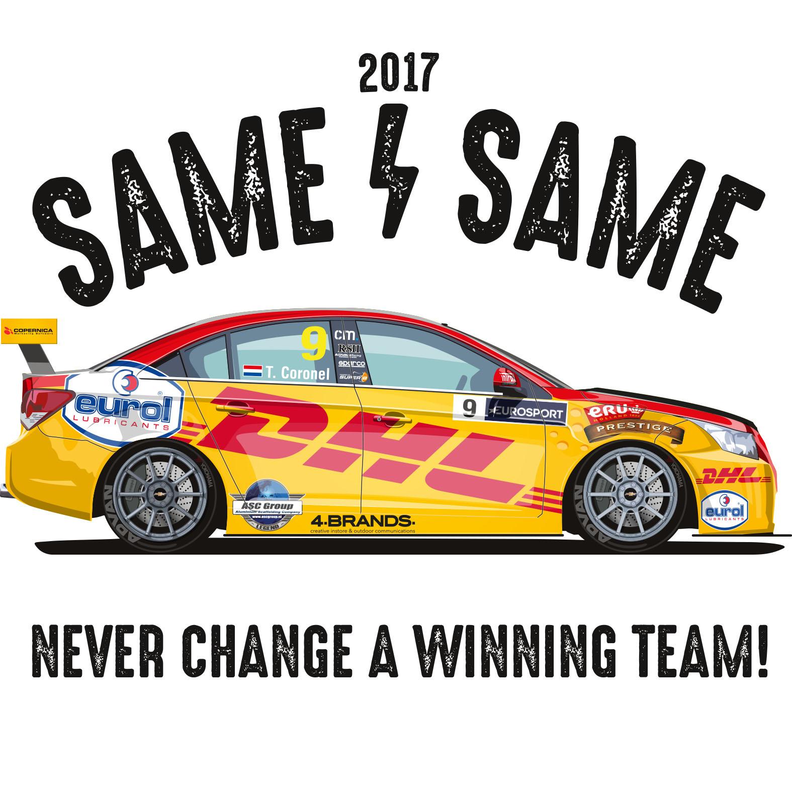 Tom Coronel wederom in FIA WTCC in 2017