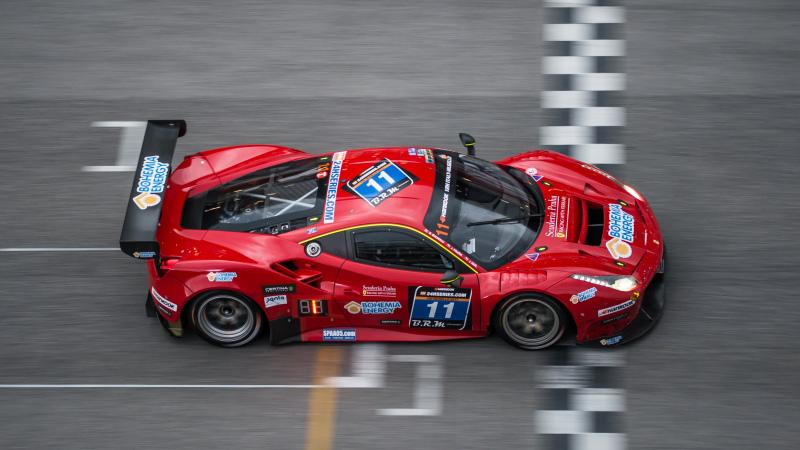 Scuderia Praha-Ferrari wint Hankook 12H MUGELLO