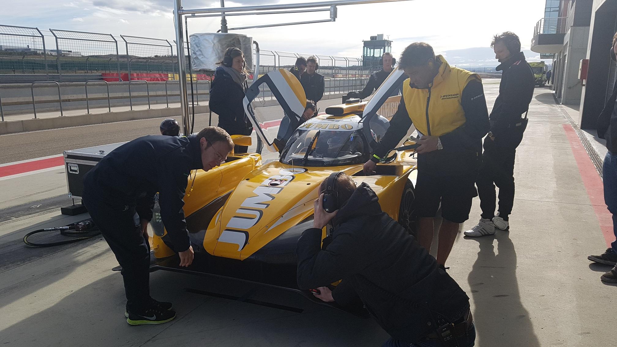 Racing Team Nederland tevreden na driedaagse test in Spanje