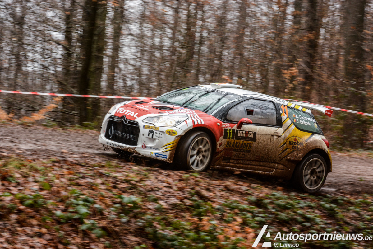 Kevin Demaerschalk grijpt naast verdiend podium door late opgave - Spa Rally