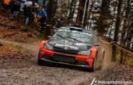 Vincent Verschueren na ongelooflijke inhaalrace op het podium - Spa Rally