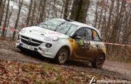 Romain Delhez 13 keer de snelste tijd bij de Juniors - Spa Rally