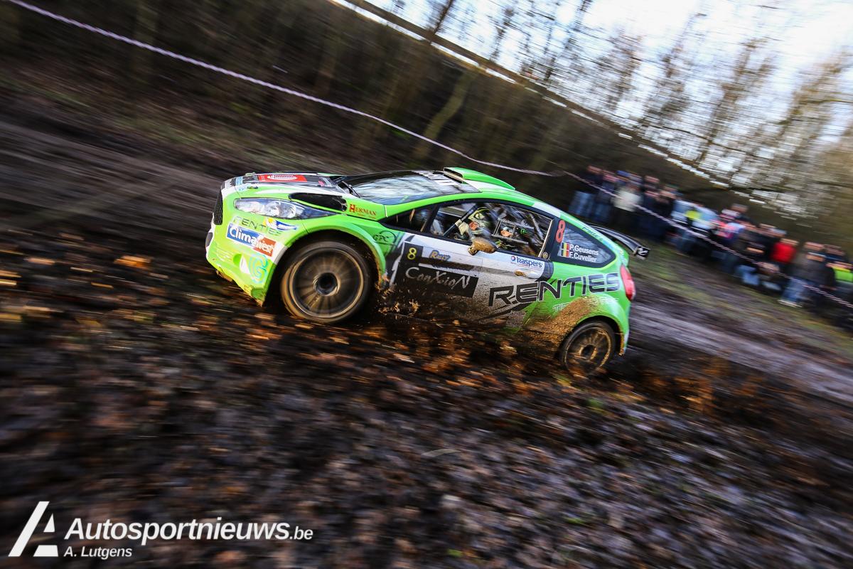 Polle Geusens wil vooral kilometers opdoen in TAC Rally