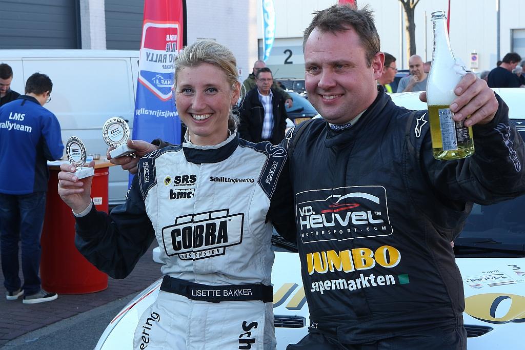 Jasper van den Heuvel wint eerste Centraal Nederland Rally