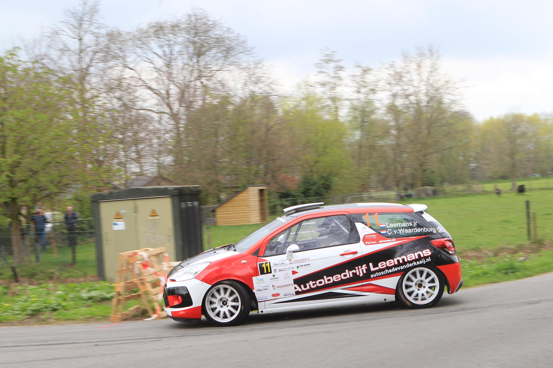 Roald Leemans 9de in Centraal Nederland Rally