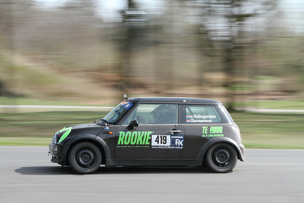 Rookie Rally Team ook in rallycross van start