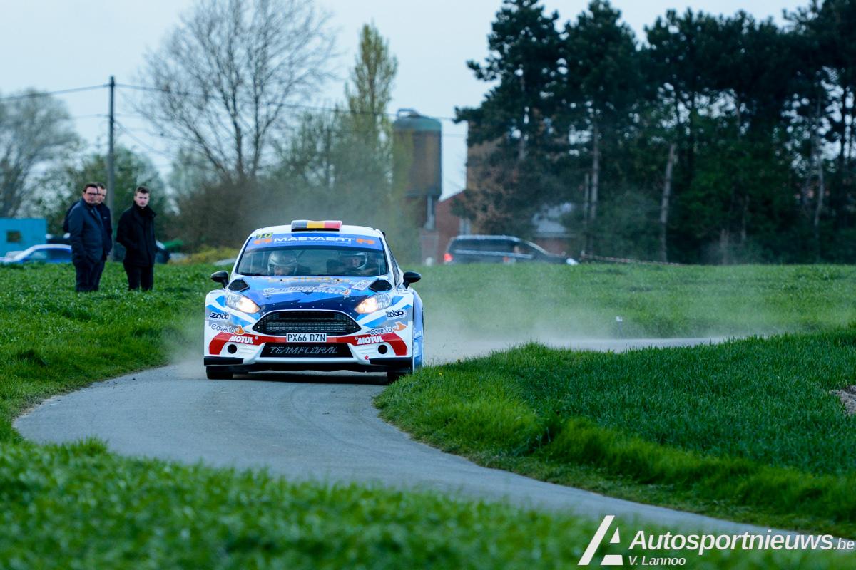 Asfalt zeer glad, grip zeer wisselvallig - PJ Maeyaert over de TAC Rally!