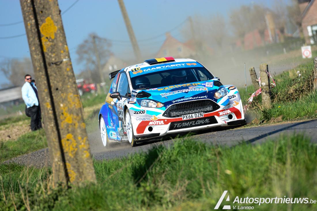 Klein foutje verknalde mooi resultaat - PJ Maeyaert over zijn TAC Rally