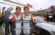 Ekris Motorsport zet succes voort met twee tweede plaatsen voor Ekris M4 GT4 op Brands Hatch