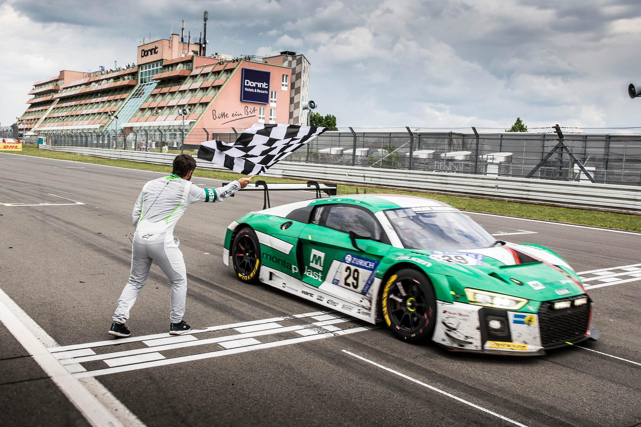 Land-Audi wint, Benelux-coureurs op podium inADAC Zurich 24h-Rennen Nürburgring