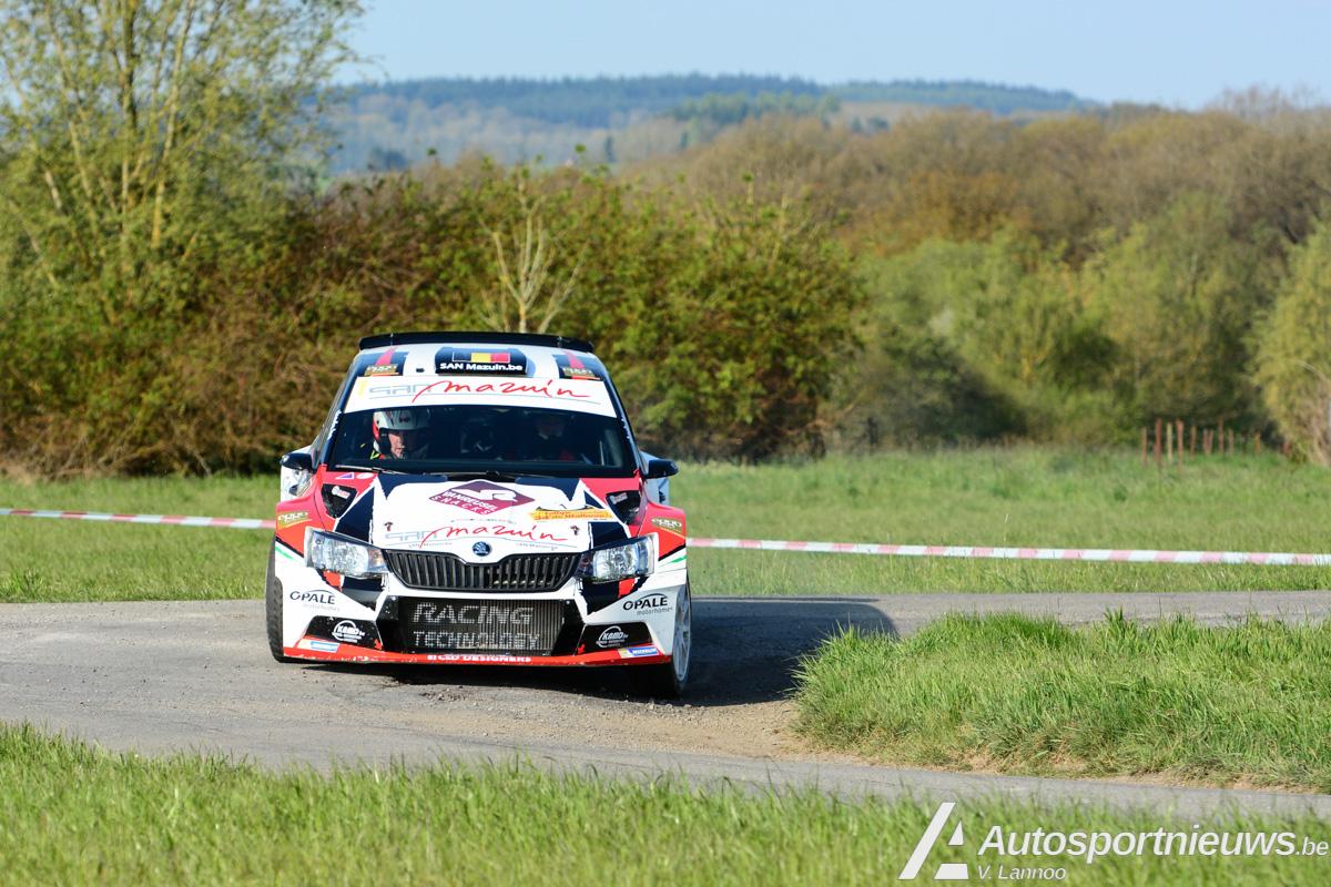 Benoit Allart wil in Sezoensrally iets rechtzetten na schuiver in Rally van Wallonië