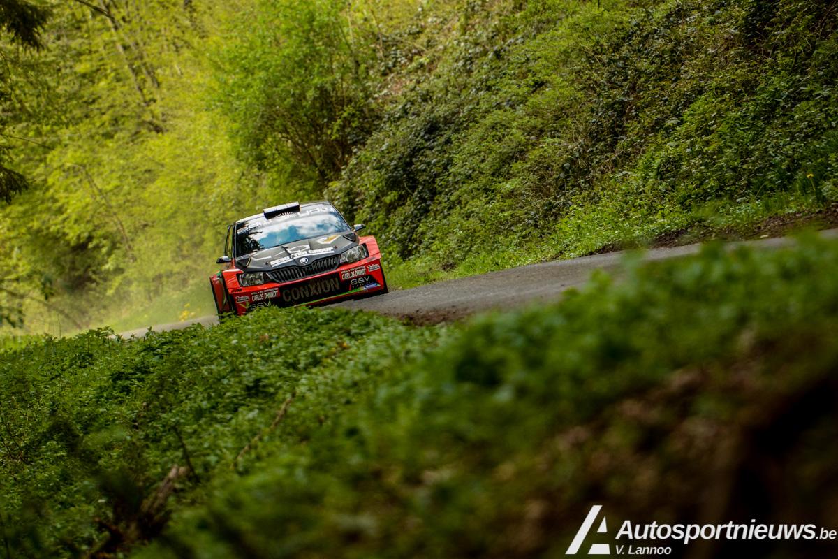 Alweer een podiumplaats voor Vincent Verschueren - Rally van Wallonië