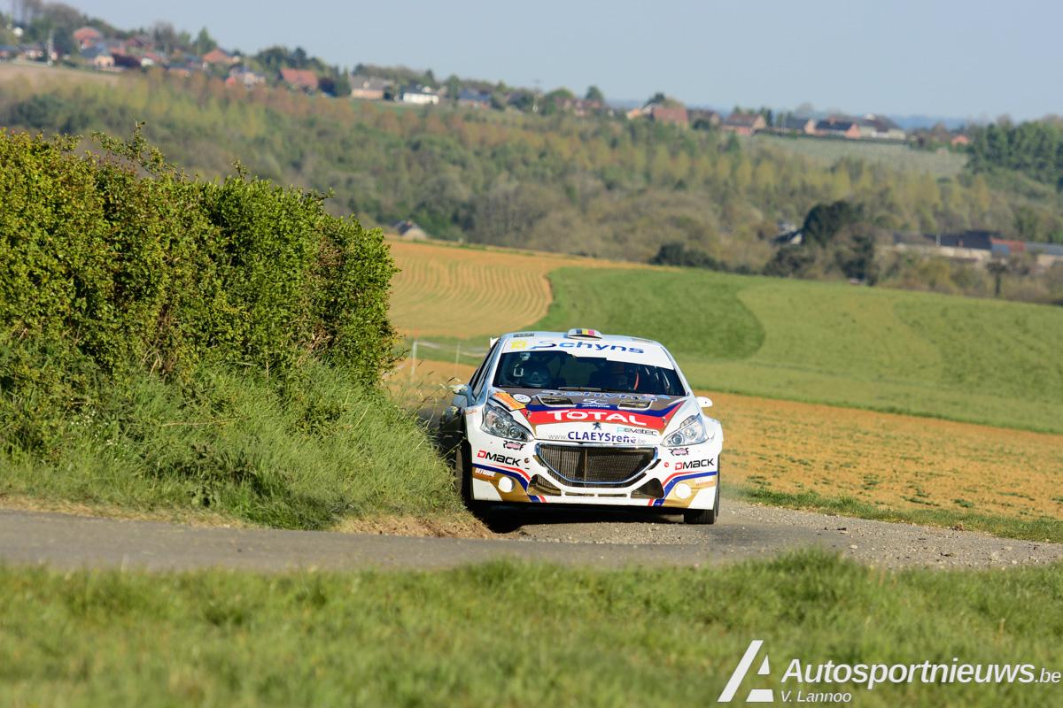 Cedric De Cecco tevreden na eerste samenwerking met D-Mack in Rally van Wallonië
