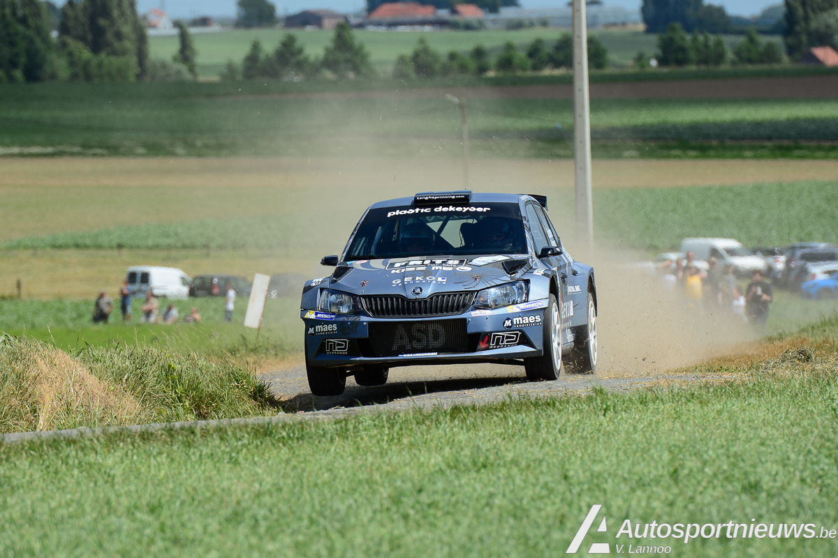 Forfait voor Melissa Debackere in Ypres Rally 2017