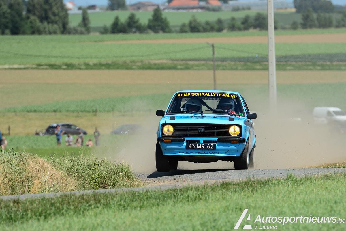 Dubbel gevoel voor Kempisch Rallyteam in Rally van Wervik