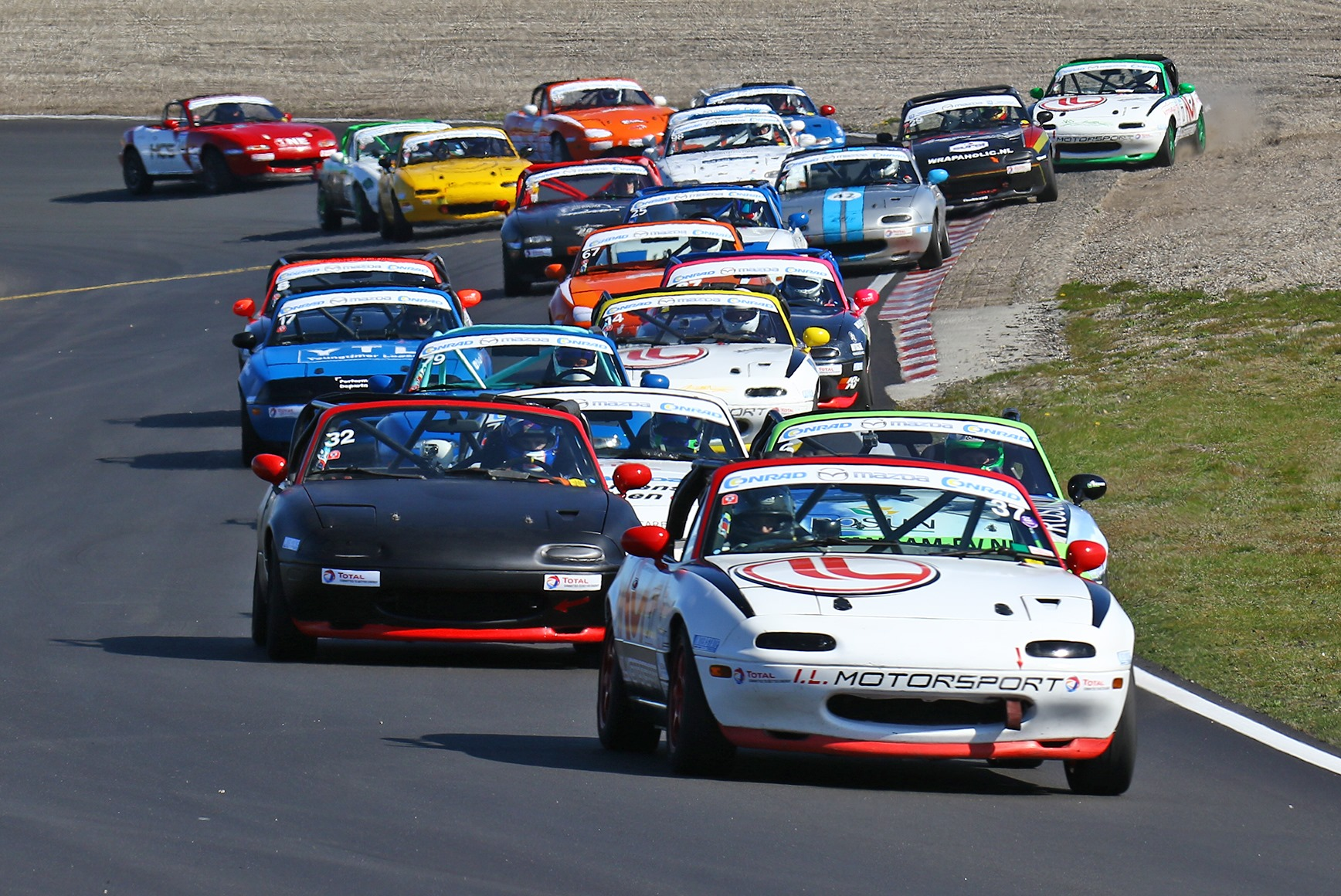 Rijkelijk gevuld programma bij Pinksterraces op Circuit Zandvoort